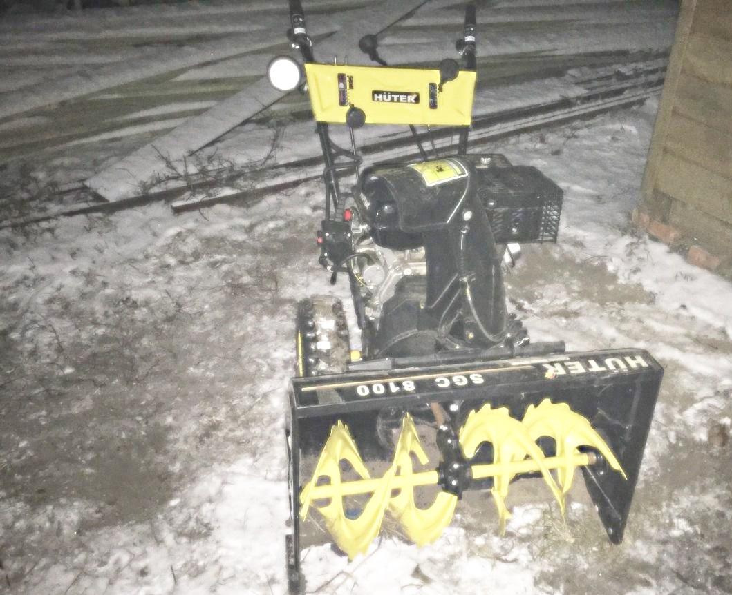 Ремонт снегоуборщика своими руками huter 75